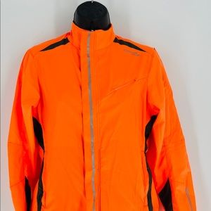 NWOT Saucony Athletic Coral Neon Jacket XS